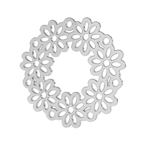 Kolo kvet privesek, LKM-2179 - 0,50