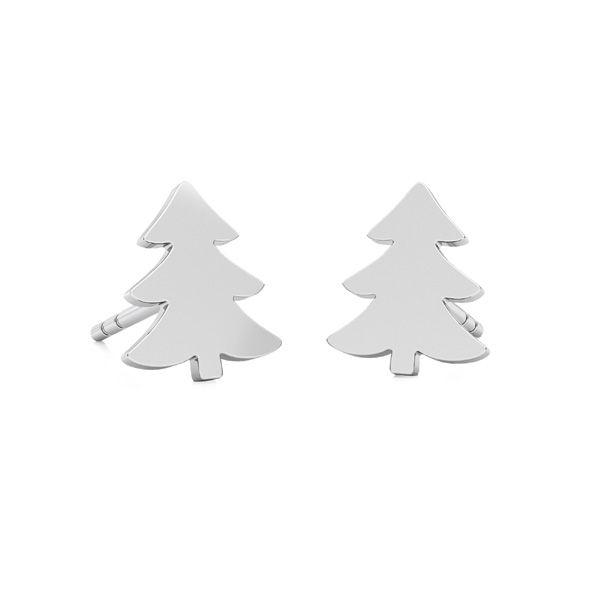 Vánoční strom náušnice LKM-2242 - 0,50 KLS