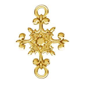 Krucifix přívěsek, stříbro 925, ODL-00600