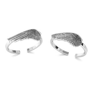 Listy prsten stříbrny 925, ODL-00602