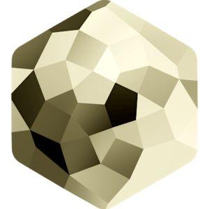 4683 MM 12,0X 13,5 CRYSTAL METLGTGOLD F (Metallic Light Gold)
