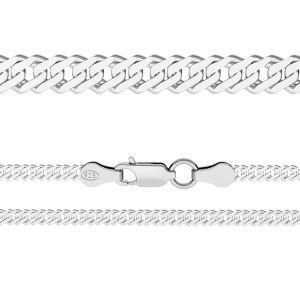 Řetízek Rombo*stříbro 925*RD 100 6L (38 cm)