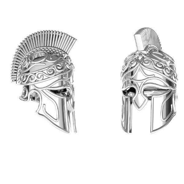Přívěsek spartánská helma*stříbro 925*ODL-00646