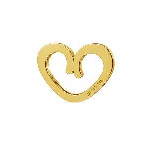 Srdce přívěsek zlato 14K*LKZ-50009 - 03