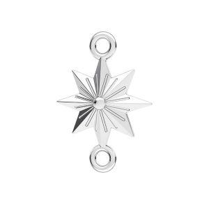 Hvězda přívěsek*stříbro 925*ODL-00638 12x17,1 mm