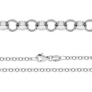 Řetízek Rolo*stříbro 925*ROLO 055 ver.3,30 (40 cm)