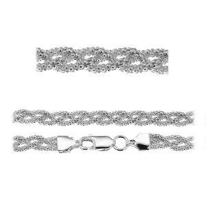 Náramek coreana*stříbro 925*PLE CORBD 1,8 3P (18 cm)
