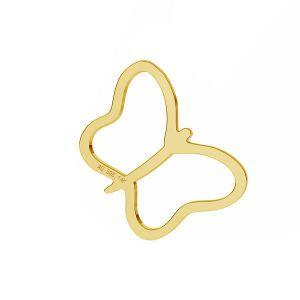 Motýl přívěsek *zlato AU 585 14K*LKZ-50015 - 03