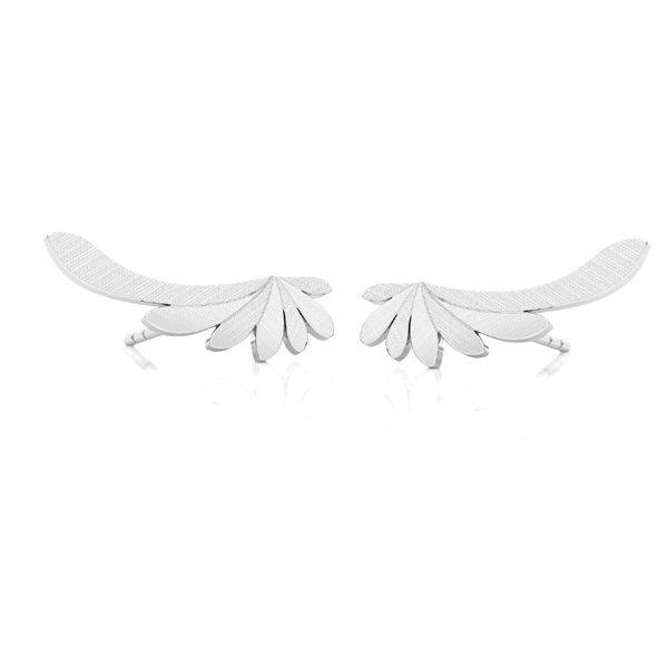 Křídla náušnice*stříbrný 925*KLS LKM-2182 - 0,50 9x19 mm