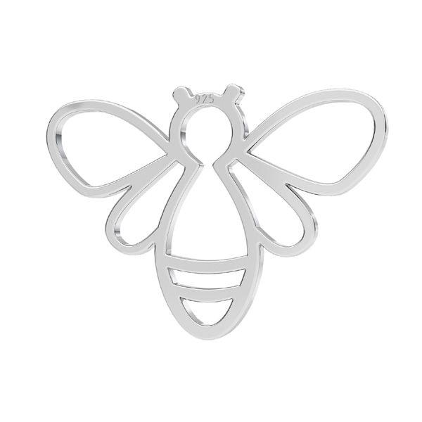 Přívěsek - Včelka - Spojovací element  *stříbro 925*LKM-2358 - 0,50 15x20,8 mm