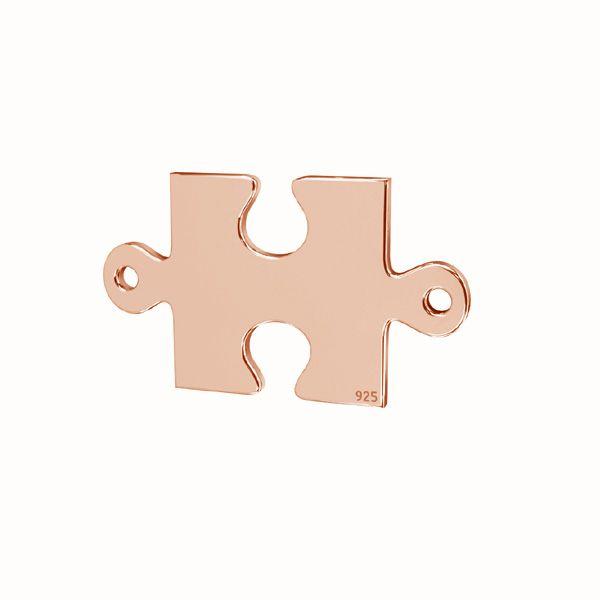 Puzzel přívěsek*stříbro 925*LKM-2421 - 0,50 11,1x19 mm