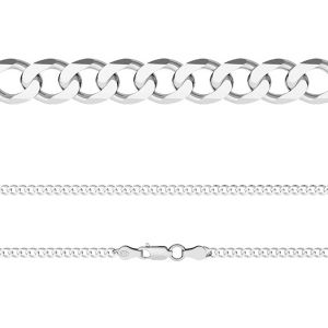 Řetízek Pancer*stříbro 925*PD 120 6L (45 cm)
