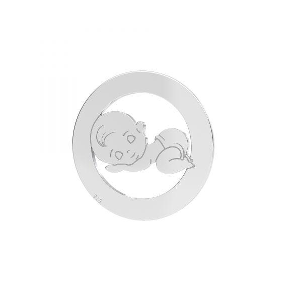 Dítě, dívka privesek, LKM-2248 - 0,50