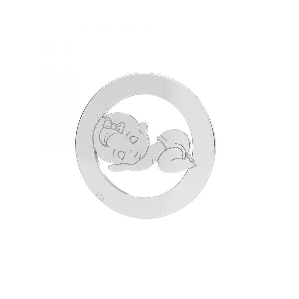 Privesek*stříbro 925*LKM-2360 - 0,50 17,5 mm