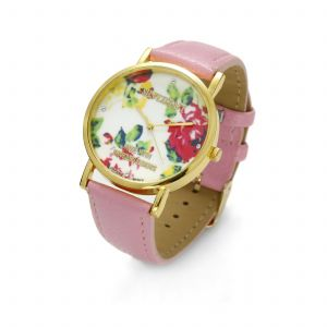 PINK FLOWER WATCH, MODEL 464