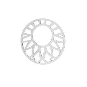 Otevřená práce přívěšek stříbrný, LKM-2289 - 0,50 20x20 mm