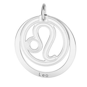 Přívěsek - Lev - Znamení zvěrokruhu*stříbro 925*LKM-2587 - 0,50 18x22 mm