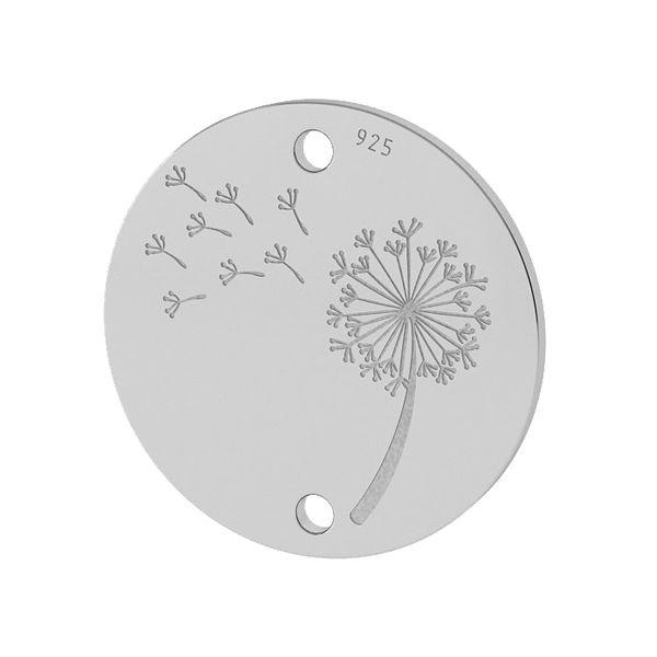 Pampeliška přívěšek stříbrný, LKM-2027