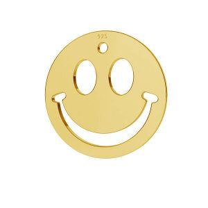 Usměj se emotikon přívěšek stříbrný, LKM-2025