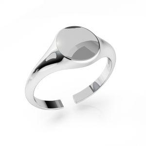 Pečetní prsten stribro ODL-00735 7,5x19 mm