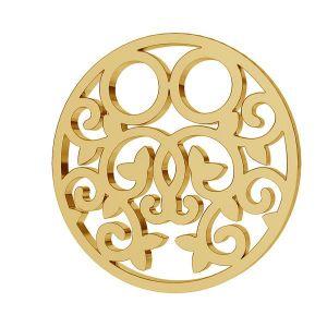 Kolo přívěsek zlato 8K LKZ8K-30005 - 0,30 13x13 mm