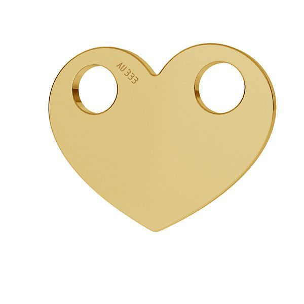 Srdce přívěsek*zlato 333*LKZ8K-30007 - 0,30 9,4x12 mm