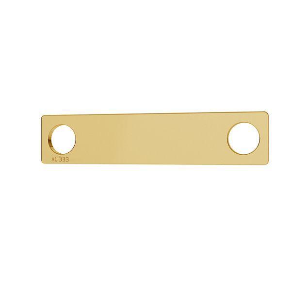 Obdélník přívěsek*zlato 333*LKZ8K-30008 - 0,30 5x23 mm