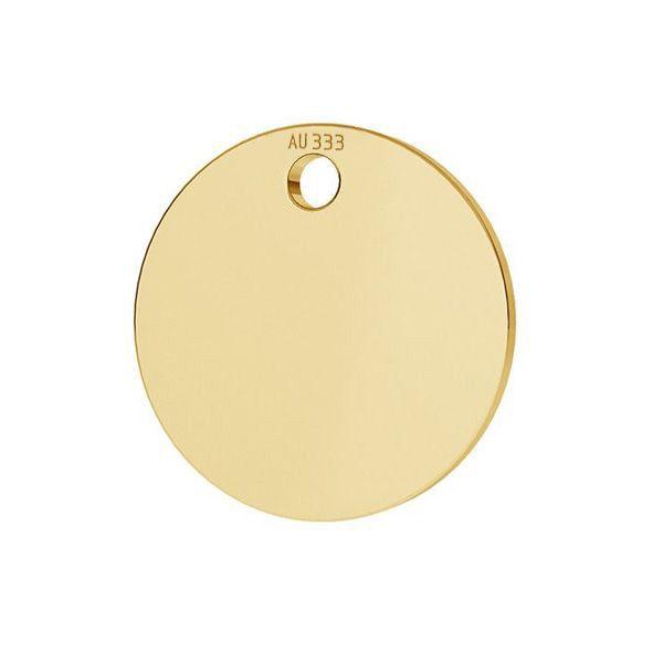 Kolo přívěsek*zlato 333*LKZ8K-30010 - 0,30 10x10 mm