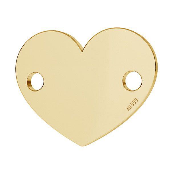 Srdce přívěsek*zlato 333*LKZ8K-30018 - 0,30 10x12 mm