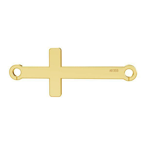 Horizontální kříž privesek*gold 333*LKZ8K-30020 - 0,30 9x23 mm
