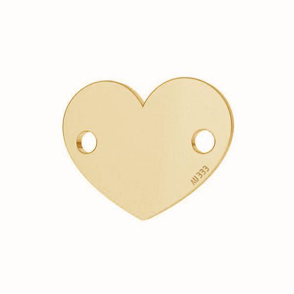 Srdce přívěsek*zlato 333*LKZ-30029 - 0,30 6x7,5 mm