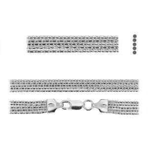 Řetízek coreana*stříbro 925*PLE CORD 1,2 2S (45 cm)