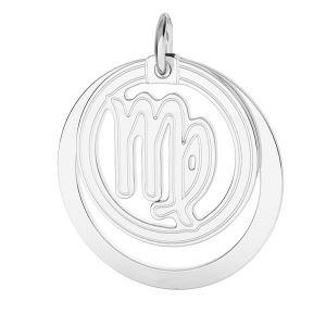 Přívěsek - Panna - Znamení zvěrokruhu*stříbro 925*LKM-2590 - 0,50 ver.2 18x22 mm