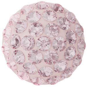 86601 MM12,0 06 223 - Cabochon Pave Light Rose