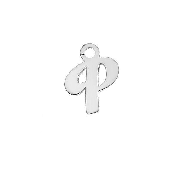 Písmeno T privesek*stříbro 925*LK-0076 - 0,50 5,1x9,5 mm