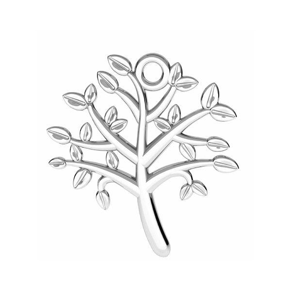 Strom života přívěšek stříbrný, ODL-00764 21,5x21,5 mm