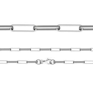 Řetízek Ankr - Leštěný diamantem*stříbro 925*FIO 100 40 cm