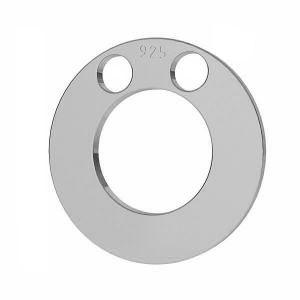 Kolo přívěšek stříbrný, LKM-2892 - 0,80 5x5 mm