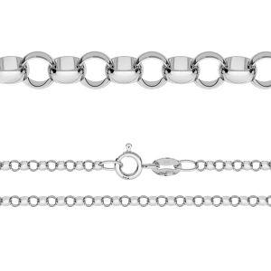 Řetízek Rolo*stříbro 925*ROLO 035 (40 cm)
