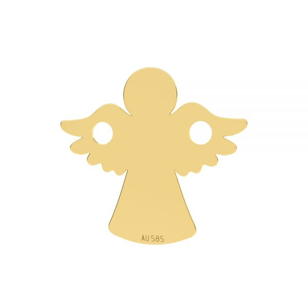 Anděl privesek*zlato 585*LKZ14K-50095 - 0,30 13x13 mm