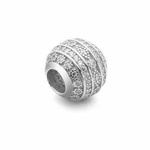 Kulaté korálky*stříbro 925*BDS-00008 9,5x10,5 mm