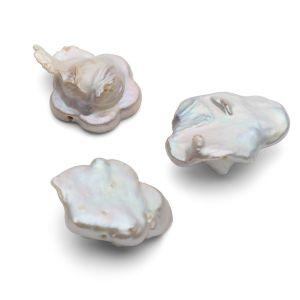 Květiny přírodní perly 17 mm, GAVBARI PEARLS
