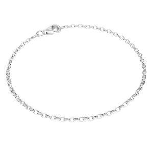 Náramek Rolo*stříbro 925*ROLO OVAL 0,35X0,60 40 cm