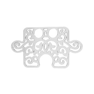 Puzzel přívěsek*stříbro 925*LKM-2639 - 0,50 11x19 mm