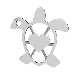 Zelva privesek, stribrny 925, LKM-2192 - 0,50 16,3x16,3 mm