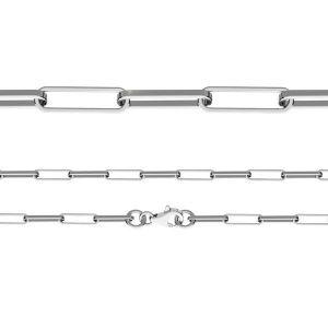 Náramek Ankr - Leštěný diamantem*stříbro 925*FIO 100 19 cm