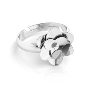 Ruze prsten*stříbrny 925*U-RING ODL-00041 11 mm