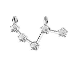 Aries přívěšek zvěrokruh*stříbro 925*ODL-00636 10x25 mm